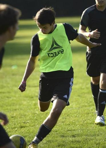 Andreas Pascual-Leone is scoring almost a goal per game for  team-oriented Wayland High.