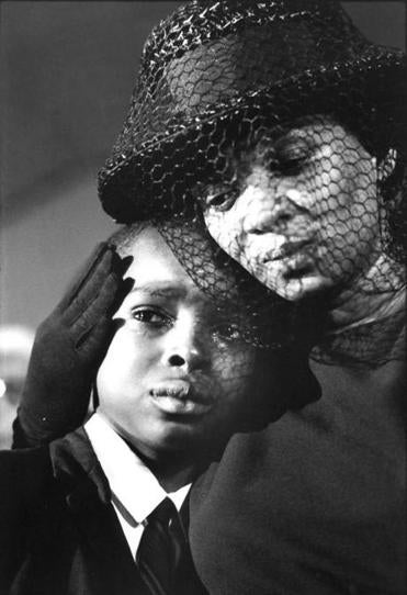 Mr. Eppridge took a photo of  Fannie Lee Chaney and son Ben at the funeral for her older son, civil rights activist James Earl, in Meridian, Miss., in 1964.
