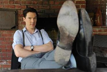 Benedict Cumberbatch, the actor of Sherlock Holmes and Dr. Frankenstein, at home in Venice, Calif., last year.