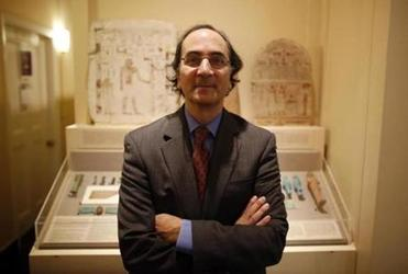 Semitic Museum director Peter Der Manuelian.
