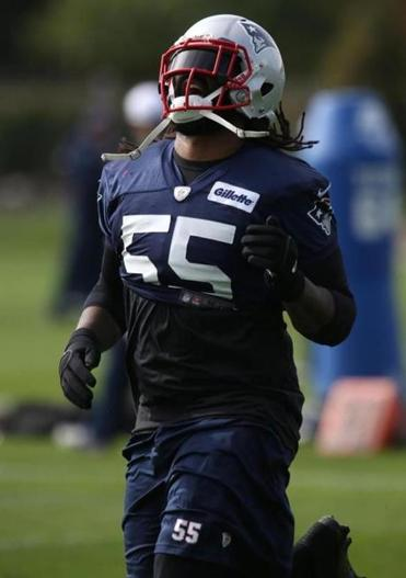 "Patriots linebacker Brandon Spikes said he is not worrying about his playing time. ""I just come out and have a good time on Sundays,'' he said."