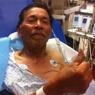 Gene Penaflor was lost for two weeks forest in California.