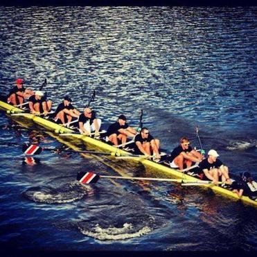 Northeastern's men's eights have won the Head of the Charles alumni race every year since its inception in '09.