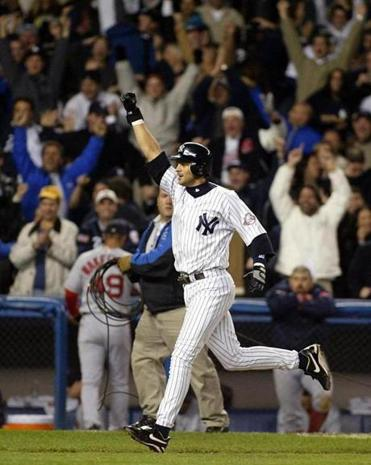 Aaron Boone, who was batting .111 when he stepped into the box, ended a classic Game 7 of the ALCS in 2003.