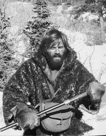 "Redford in ""Jeremiah Johnson,"" from 1972."