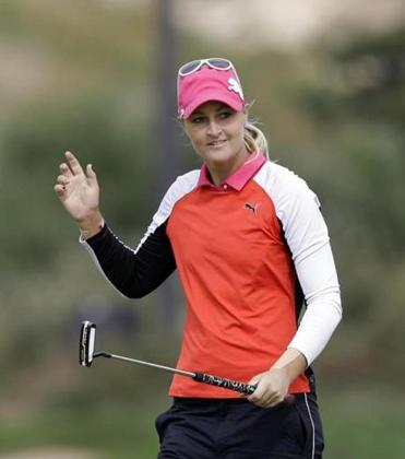 Anna Nordqvist, who hasn't won since 2009, is tied for the lead at 7-under 137.