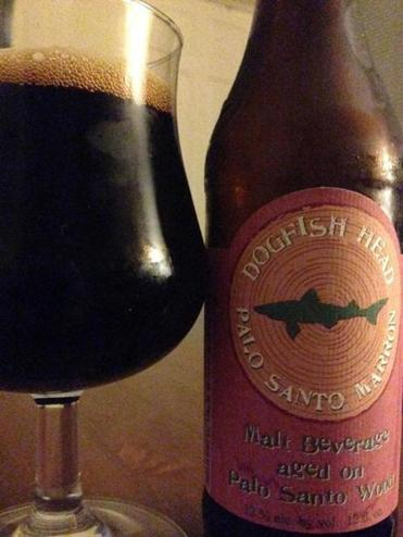 Dogfish Head's Palo Santo Marron.