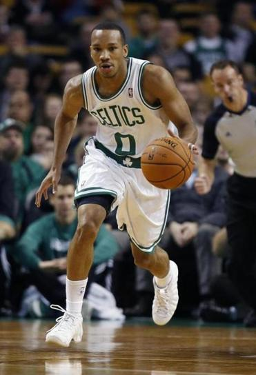 Avery Bradley, who just finished his first exhibition season as a pro, is becoming more comfortable playing the point.