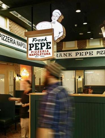 Pizzeria Frank Pepe at Mohegan Sun.