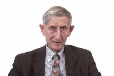 Freeman Dyson, a theoretical physicist at the Institute for Advanced Study in Princeton.