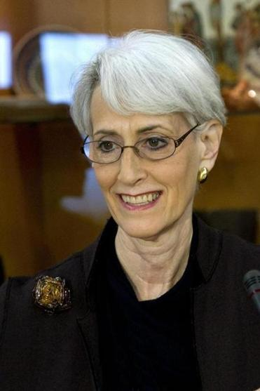 US Undersecretary of State Wendy R. Sherman met with Russian and UN officials Tuesday.