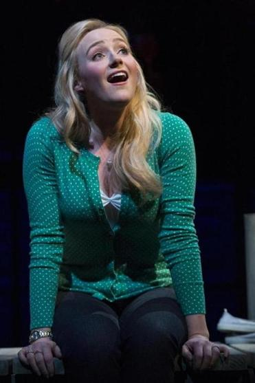 "Betsy Wolfe, who will debut with the Metropolitan Opera next month, as Cathy in the ""The Last Five Years"" off Broadway."