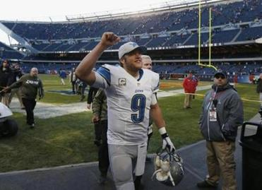 Matthew Stafford has a big-time supporter: Hall of Famer Terry Bradshaw.