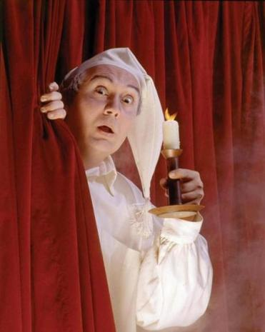 "David Coffee as Ebenezer Scrooge in North Shore Music Theatre's ""A Christmas Carol"" in 1992. Coffee will play the role for the 20th time when the company stages the production beginning Dec. 6."