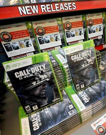 GameStop's full-year forecast also came up short of estimates.