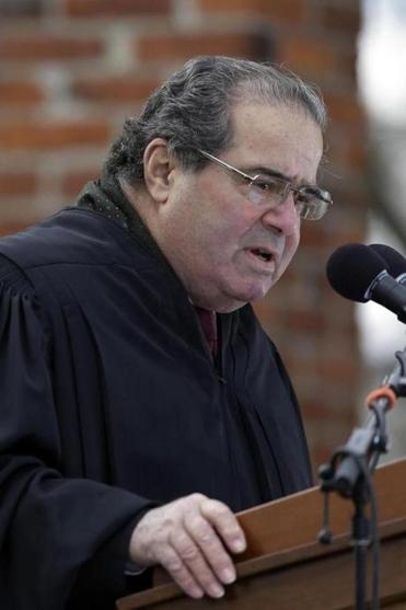 Justice Antonin Scalia said the clinics could not overcome the heavy legal burden they faced.