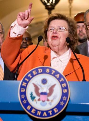 """This is what the American people wanted, us working together,'' said five-term Senator Barbara Mikulski, Democrat of Maryland and head of the Senate Appropriations Committee."