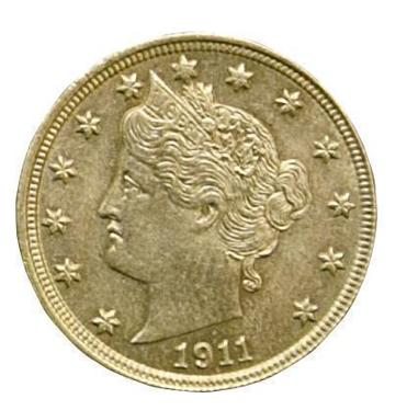 A coins from 1909 through 1913.