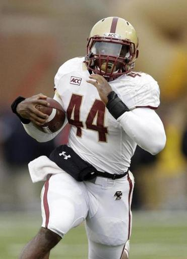 Making a late Heisman push, BC's Andre Williams rushed for 263 yards Saturday to go over 2,000 for the season.