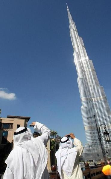 Burj Khalifa, the world's tallest tower