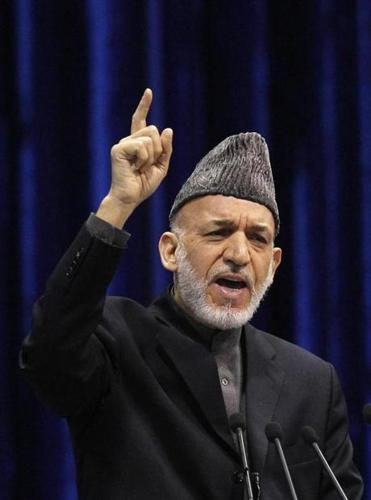 Afghan President Hamid Karzai is being warned he is playing a risky game of brinkmanship.