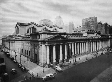 Pennsylvania Station was completed in 1911.