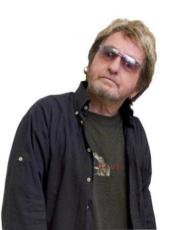 Jon Anderson, Yes lead singer, posed before a concert in Lowell in 2004.