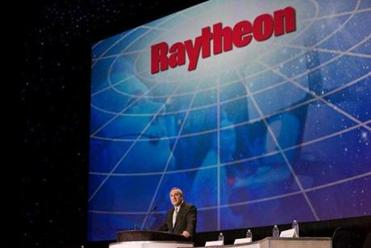 Kerry advocated for Massachusetts-based Raytheon Co.'s bid to provide an air defense system to Oman. Above, Raytheon chairman and chief executive William Swanson spoke at the National Space Symposium in April 2012.