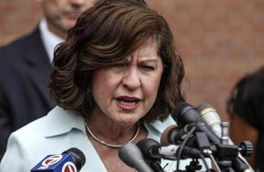 """This was not a romantic saga,''  US Attorney Carmen Ortiz said. ''Ms. Greig was no victim; she made choices of her own free will. As a result, now she's paying the price for those choices that she made."""
