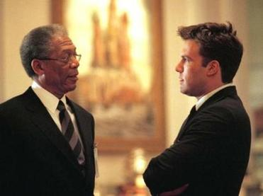 "Ben Affleck (right) in ""The Sum of All Fears."""