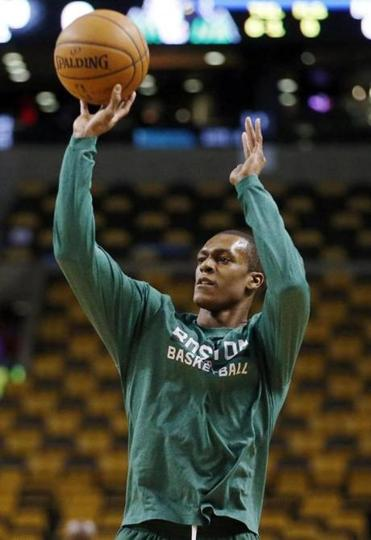 """It may be this month, next month. It'll be before All-Star Break,"" Rajon Rondo said of his return to the court."