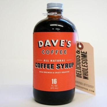 Tip: I recommend Dave's Coffee's Coffee Syrup. It has a pure flavor that isn't too sweet.
