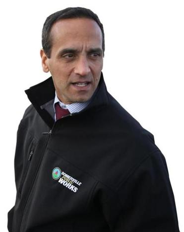 Somerville Mayor Joe Curtatone is behind the city's 20-year plan.