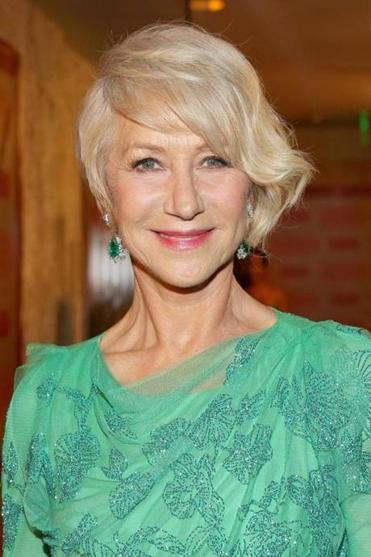 Actress Helen Mirren a Golden Globes party this week in Los Angeles.