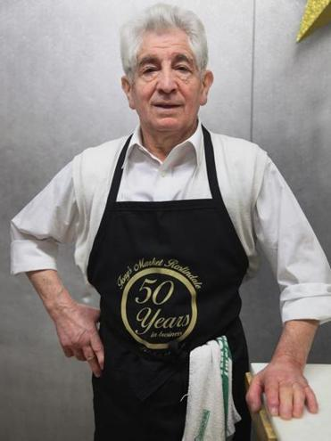 Tony DeBenedictis moved to Boston from Italy at 19 and soon after opened a butcher shop.