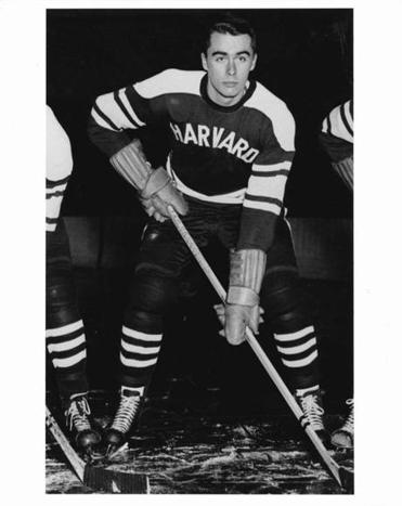 Former Harvard hockey player Walter Greeley.
