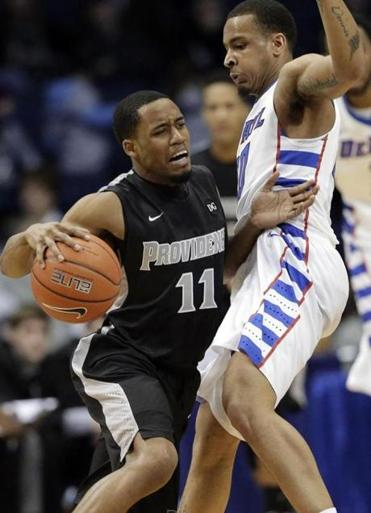 Providence's Bryce Cotton scored 28 points and helped the Friars beat DePaul for their sixth win in the last seven games.