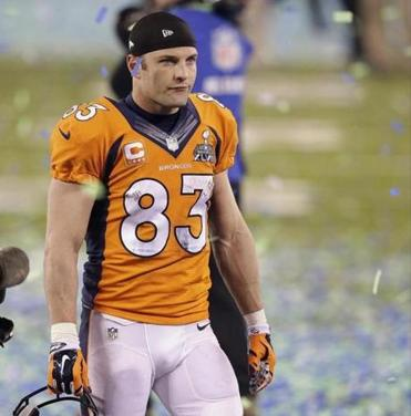 Wes Welker will miss the first four games of the Broncos' season because of a PED suspension.