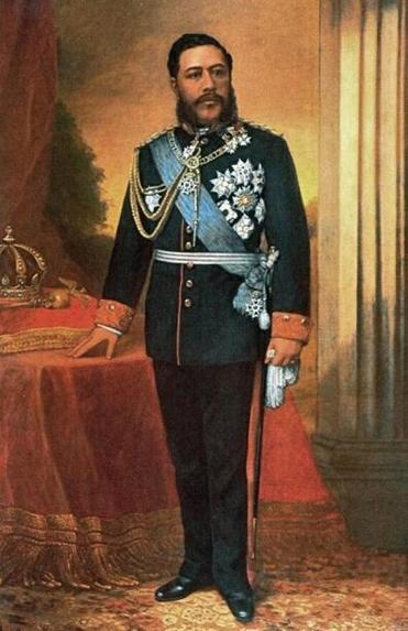 King David Kalakaua of Hawaii.