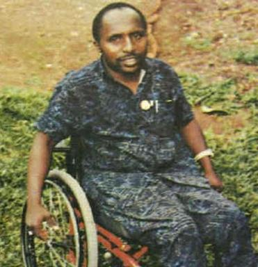 Pascal Simbikangwa is accused of taking part in a genocide that killed 800,000 Rwandans.