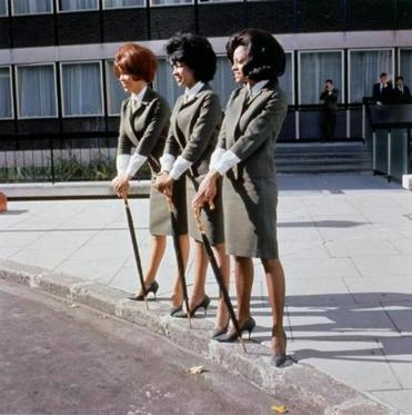 "Photographer Unknown, ""The Supremes,"" 1964, type c-print. Private Collection. © Mark and Colleen Hayward. 30rock -- 02music1964"