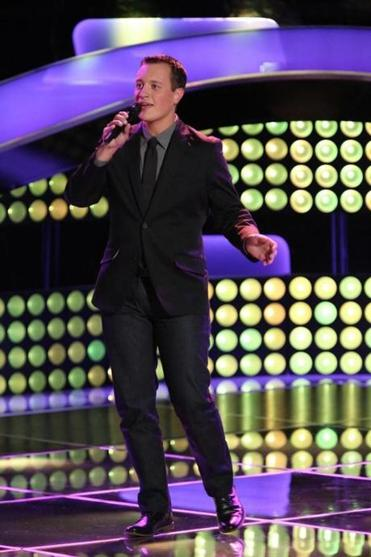 "Noah Lis of Palmer performed on ""The Voice"" recently."
