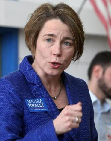 Attorney general candidate Maura Healey.