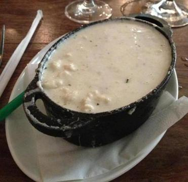 "The mac and cheese that a Greenwich, Conn., restaurant ""blended"" for Grantham."
