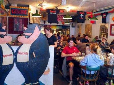 Redbones is a Davis Square dining destination for fans of barbecue.