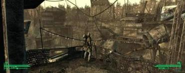"The landscape in ""Fallout 3."""