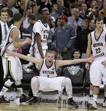 Could Western Michigan be celebrating a major upset this week?  (AP Photo/Tony Dejak)