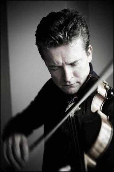 Violinist Christian Tetzlaff is a frequent collaborator with pianist Lars Vogt.