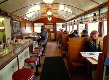 The Littleton Diner is a beautifully restored 1940 Sterling diner.
