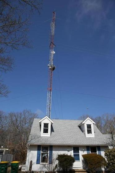 Mvyradio is based in small house in Vineyard Haven. The online station could be back on the airwaves in May.